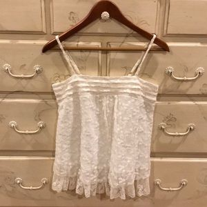 LF Millau 100% cotton with lace overlay